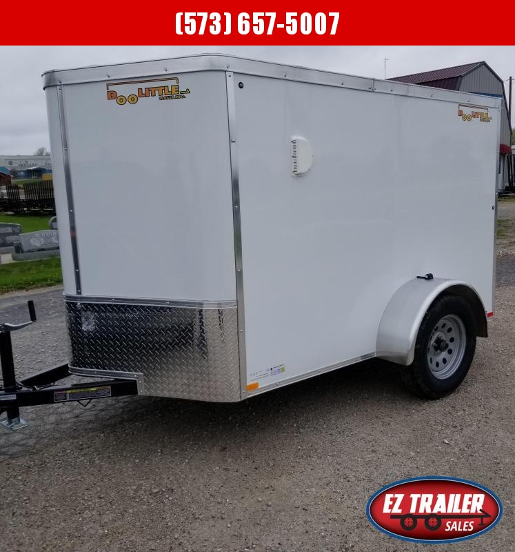 2021 DooLitttle Trailers 5x8 Enclosed Cargo Trailer
