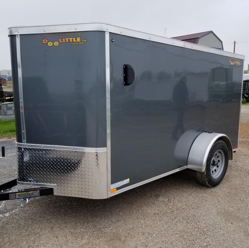 2021 DooLitttle Trailers 5x10 Enclosed Cargo Trailer