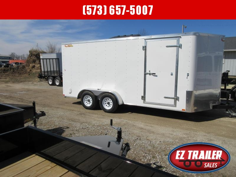 2020 Doolittle 7X16 Enclosed Cargo Trailer