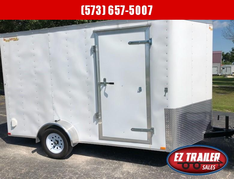 2021 DooLitttle Trailers 7x12 Enclosed Cargo Trailer
