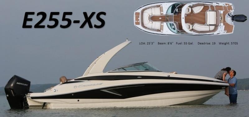 2022 Crownline E255 XS Bowrider