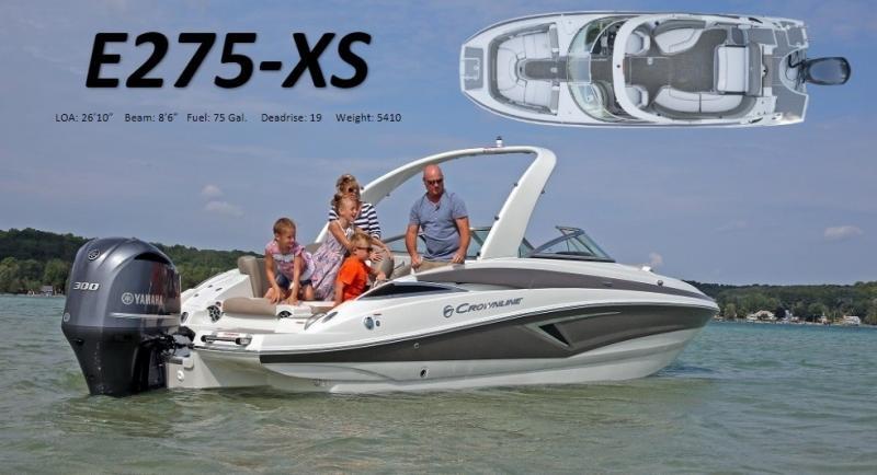2022 Crownline E275 XS Bowrider