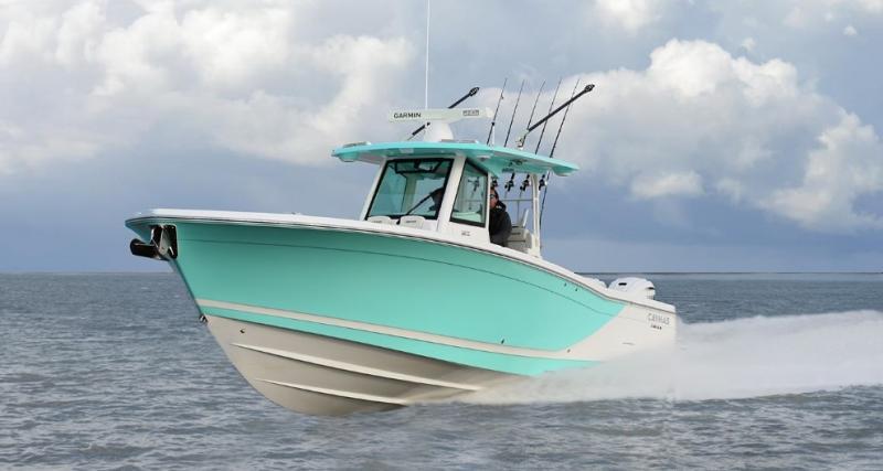 2021 Caymas Boats 341 CC Center Console