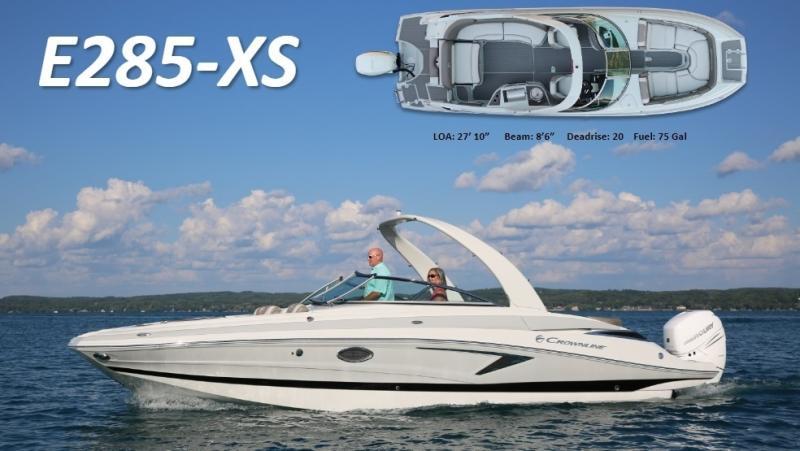 2022 Crownline E285 XS Bowrider