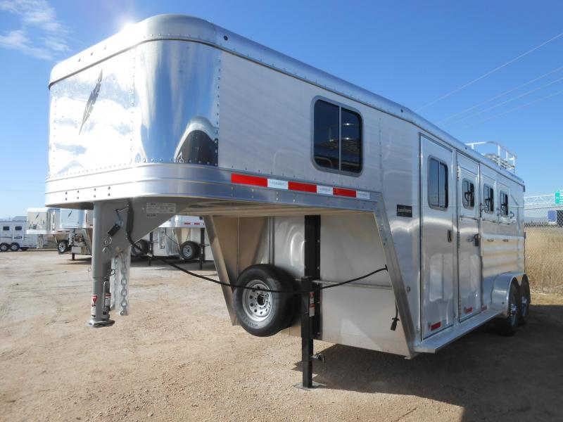 2019 Featherlite 8542-3 Horse Trailer