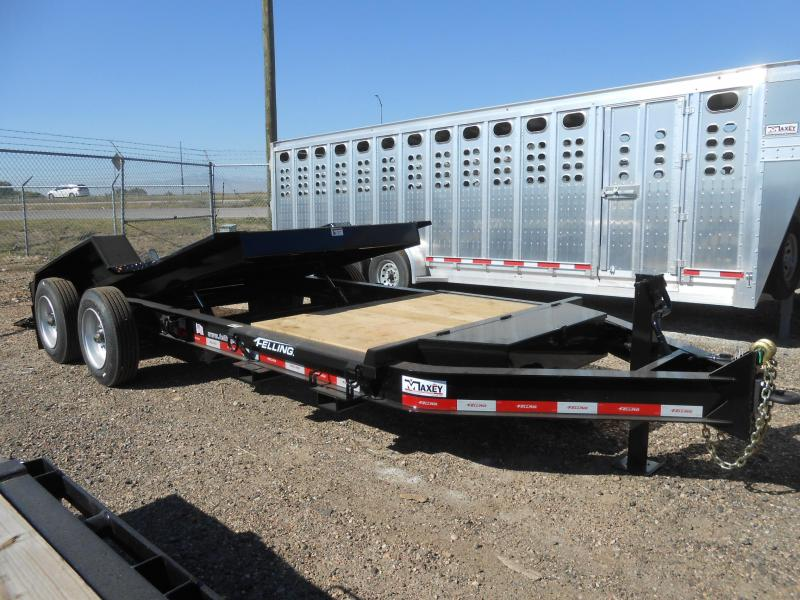 2022 Felling Trailers FT-16IT-20 Super Duty Tilt Deck Pintle Equipment Trailer