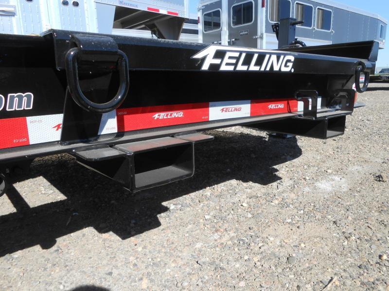 2022 Felling Trailers FT-16IT-20 Super Duty Tilt Deck Pintle Equipment Trailer