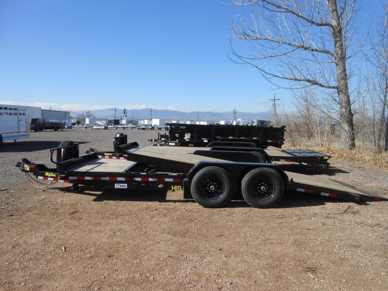 2022 Big Tex Trailers 14TL-20 Tilt Deck Equipment Trailer