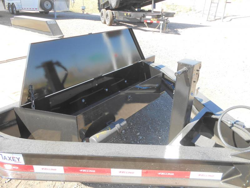 FT-14IT-20 Heavy Duty Tilt Deck Pintle Equipment Trailer