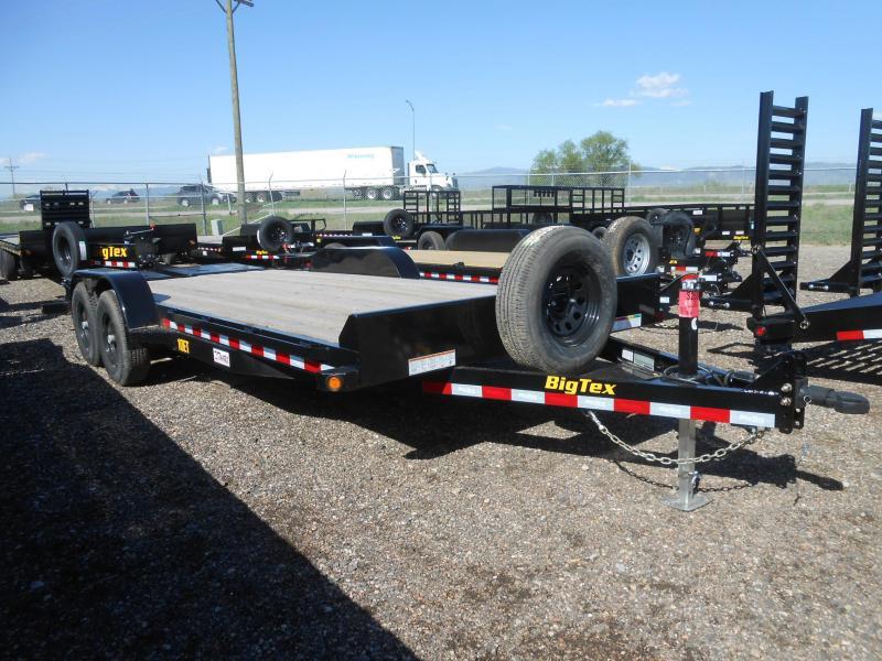 2022 Big Tex Trailers 10ET-18MR Equipment Trailer