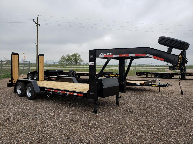 2022 Felling Trailers FT-14I-20GN Heavy Duty Gooseneck Equipment Trailer