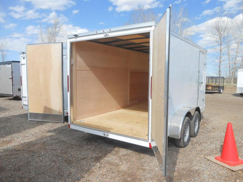 2020 Wells Cargo FT714T2-DBL DRS Enclosed Cargo Trailer