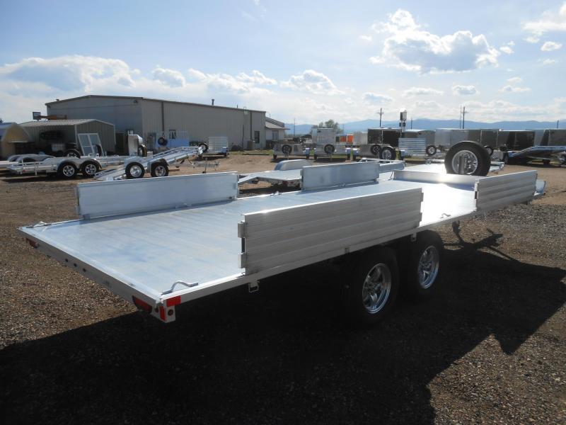 2022 Aluma A8818 Aluminum 4 - Place ATV Trailer