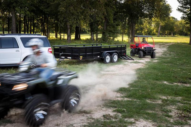 2021 Big Tex Trailers 70TV-14 Solid Side Utility Trailer