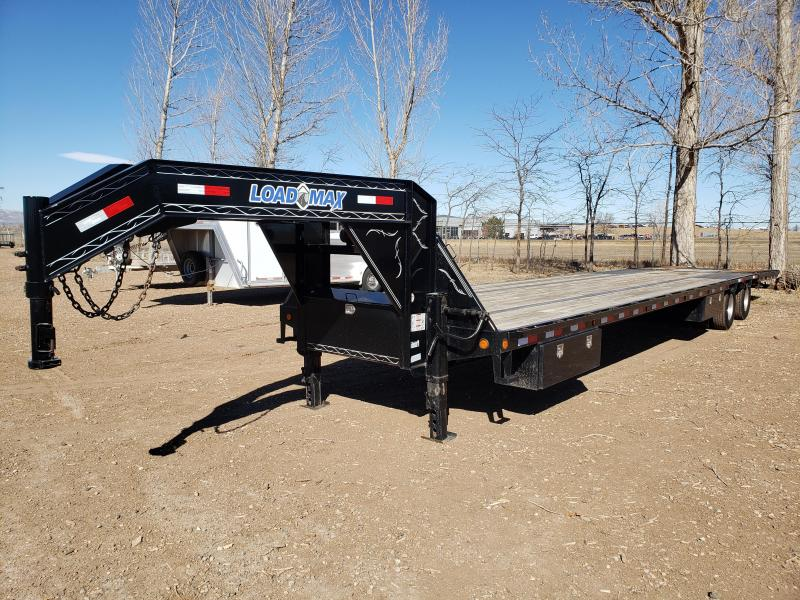2015 Load Trail Gooseneck 31+9 Hydraulic Dovetail Flatbed Trailer