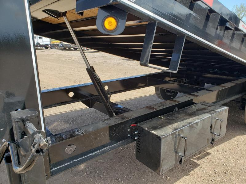 2022 Felling Trailers FT-16-2 Super Duty Gooseneck Deckover Power Tilt Flatbed Trailer
