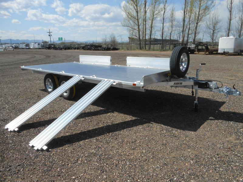 2022 Aluma A8816 4-Place Aluminum ATV Trailer