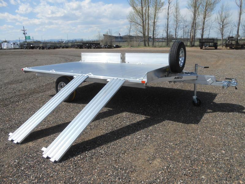 2022 Aluma A8812 Aluminum 3-Place ATV Trailer