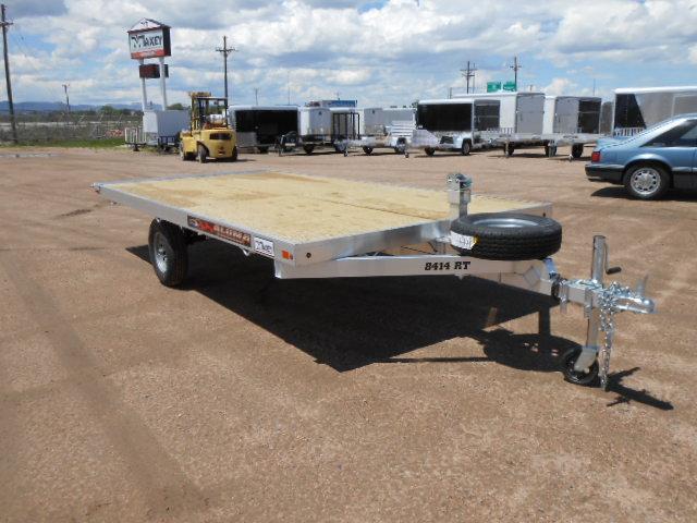 2021 Aluma 8412RT Aluminum Raft Watercraft Trailer