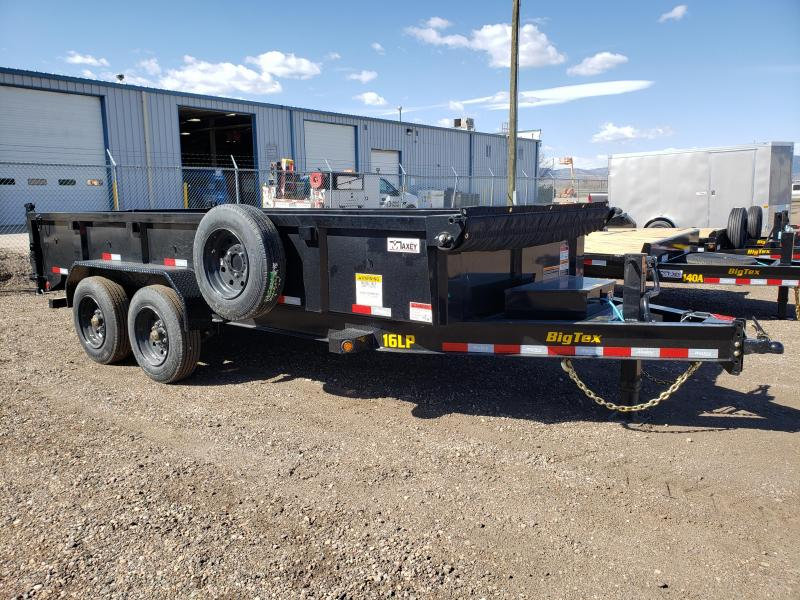 2021 Big Tex Trailers 16LP-16 Super Duty Dump Trailer