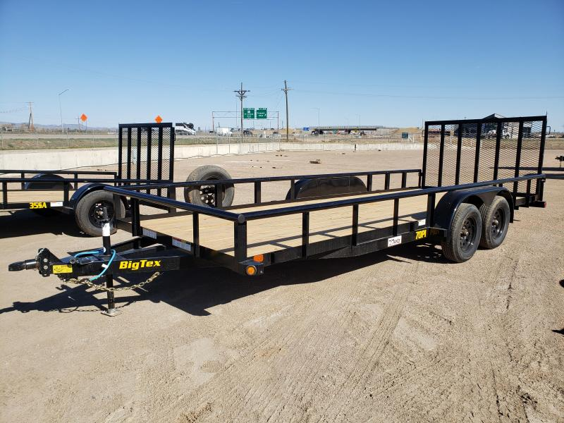 2021 Big Tex Trailers 70PI-20X Utility Trailer