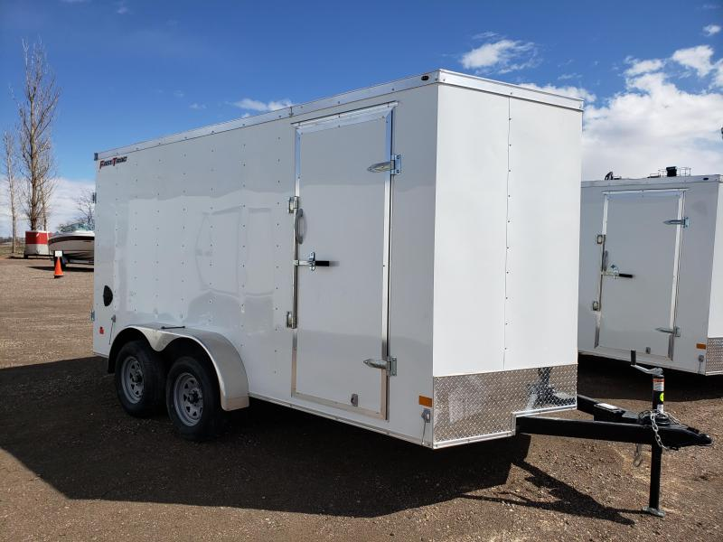 2022 Wells Cargo FT714T2-DBL DRS Enclosed Cargo Trailer