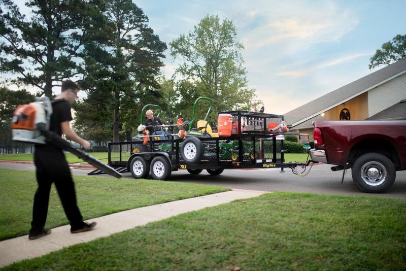 2020 Big Tex Trailers 70LR-14 Landscape Utility Trailer