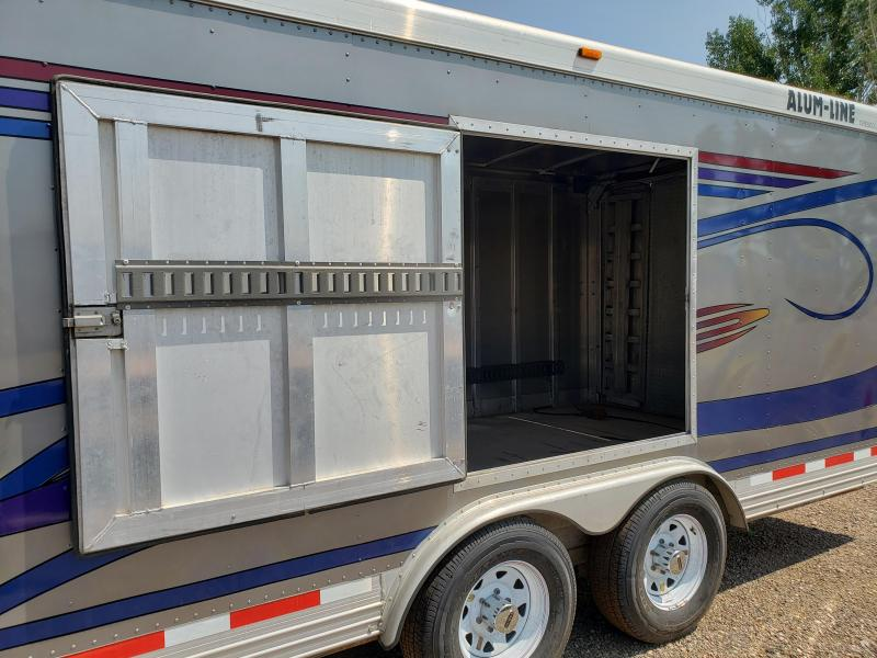 2000 Alum-Line Trailers 24' Enclosed Car / Racing Trailer