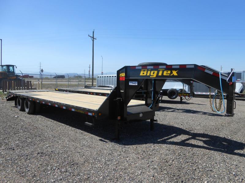 2022 Big Tex Trailers 22GN-25+5MR Gooseneck Flatbed Trailer