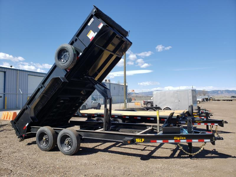 2022 Big Tex Trailers 16LP-16 Super Duty Dump Trailer