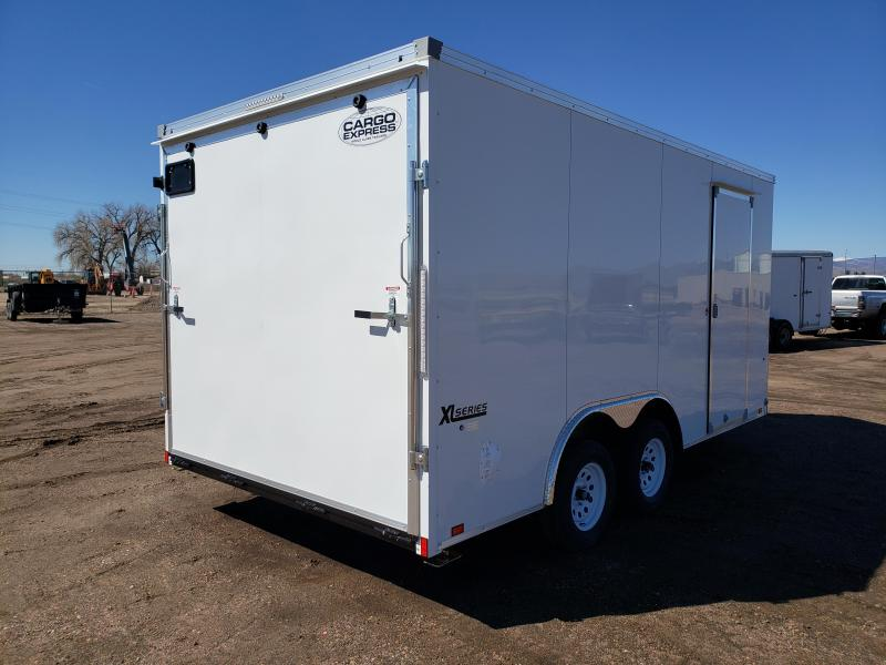 2022 Cargo Express XLW85X16TE2-RD Enclosed Cargo Trailer