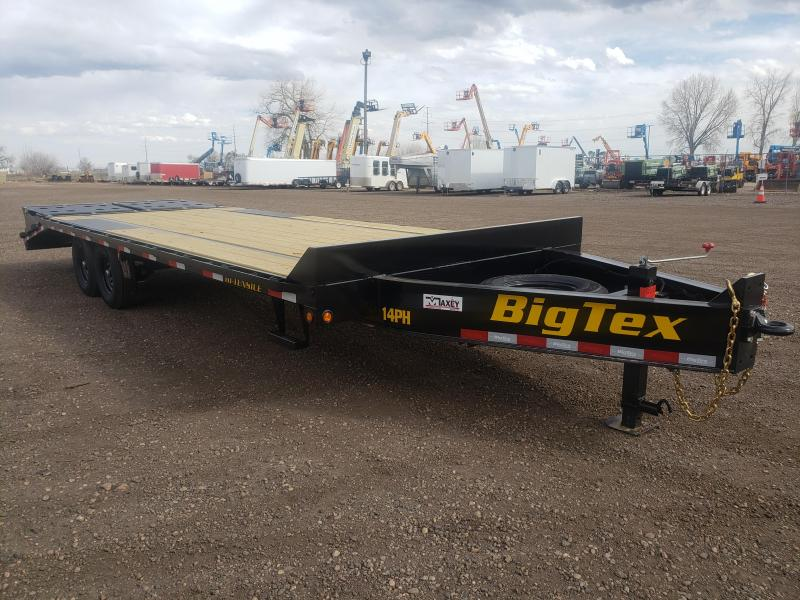2021 Big Tex Trailers 14PH-20+5MR Pintle Flatbed Trailer