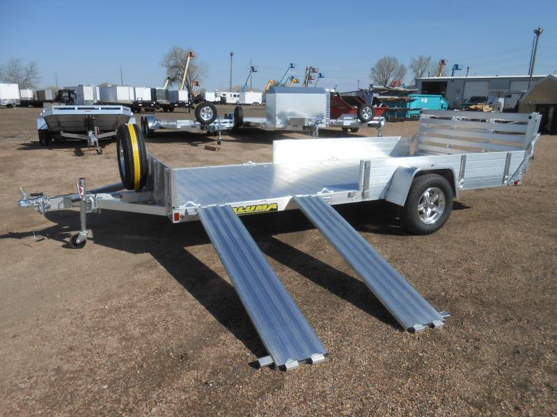 2022 Aluma 8114S-R-BT-SR Utility Trailer