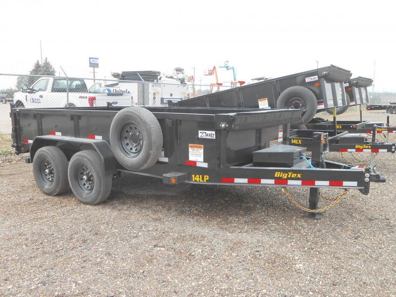 2021 Big Tex Trailers 14LP-16 Low Profile Dump Trailer
