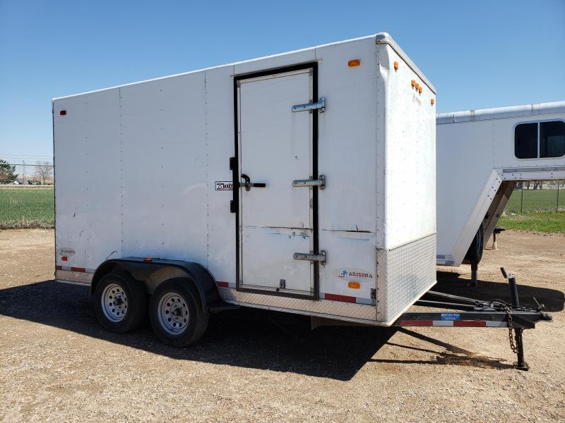 2007 Arizona 7'W X 14'L Enclosed Cargo Trailer