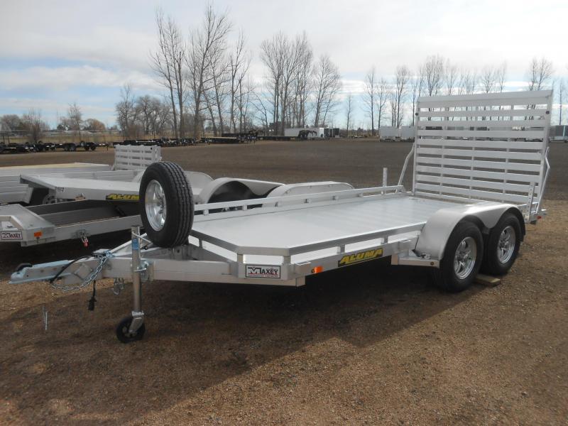 2020 Aluma 7814TA Tandem Axle Aluminum Utility Trailer