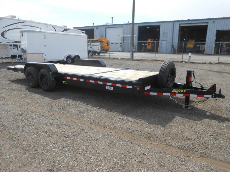2021 Big Tex Trailers 16TL-22 Super Duty Tilt Deck Equipment Trailer