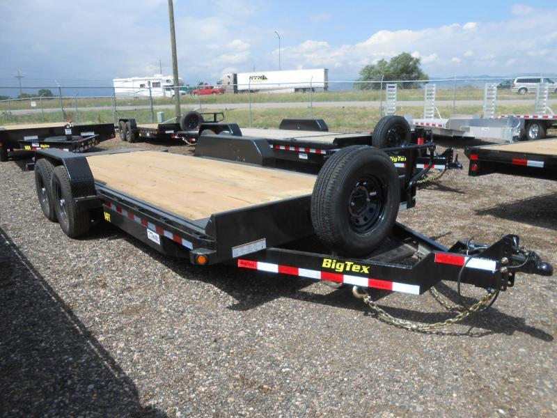 2021 Big Tex Trailers 14FT-20 Tilt Deck Equipment Trailer