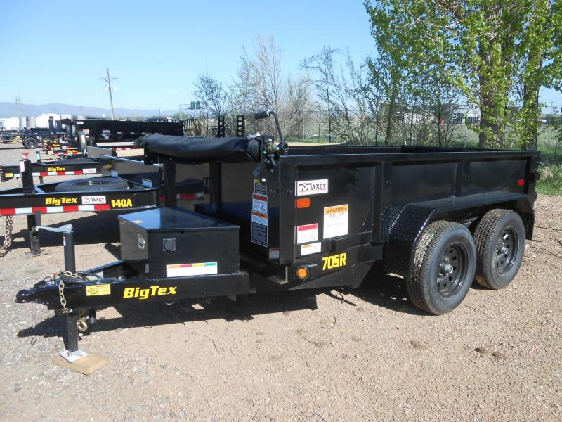 2021 Big Tex Trailers 70SR-10-5WDD Dump Trailer