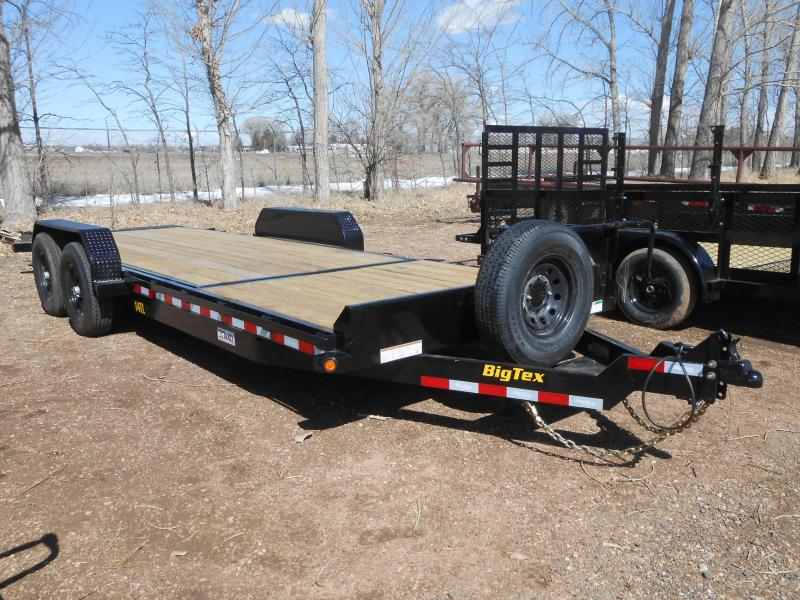 2021 Big Tex Trailers 14TL-22 Tilt Deck Equipment Trailer