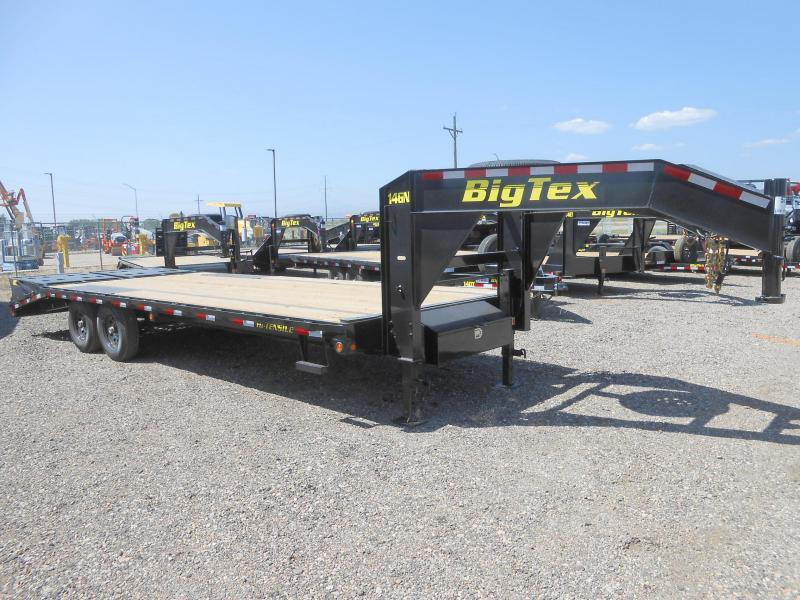 2021 Big Tex Trailers 14GN-20+5MR Gooseneck Flatbed Trailer