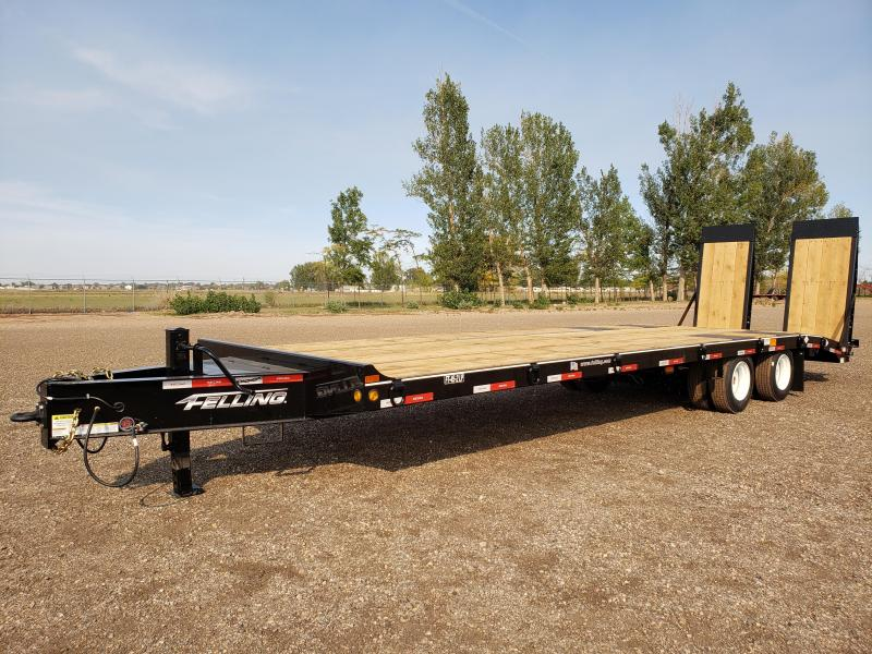 2021 Felling FT-45-2LP Deck-Over Tag Trailer w/ Air