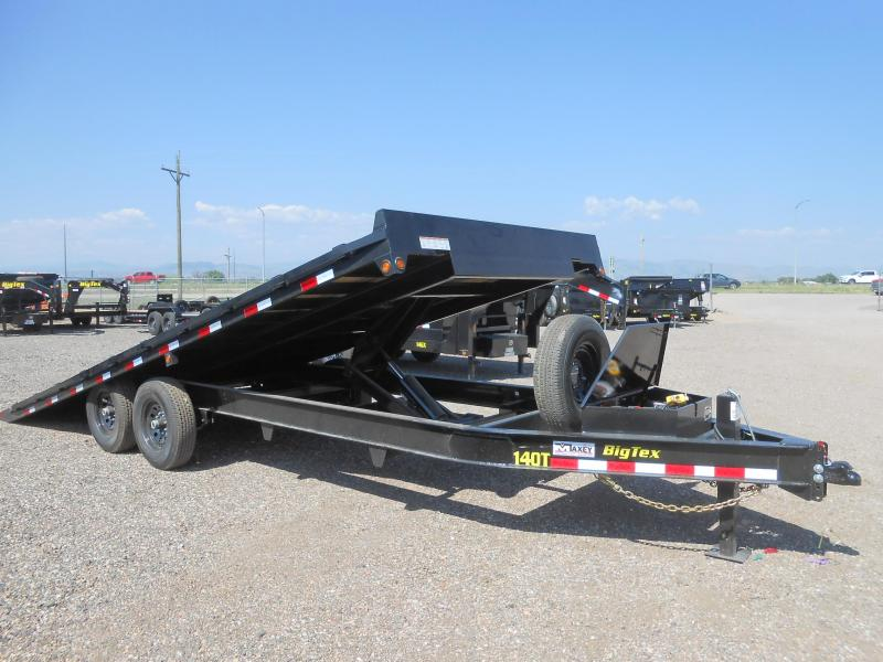 2021 Big Tex Trailers 14OT-24 Deckover Power Tilt Flatbed Trailer