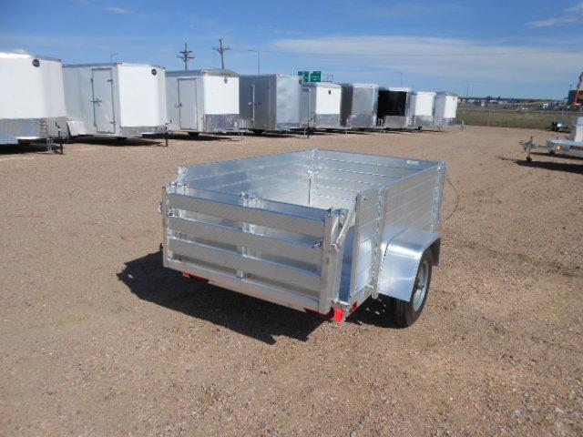 2022 Aluma 486BT Aluminum Solid Side Utility Trailer