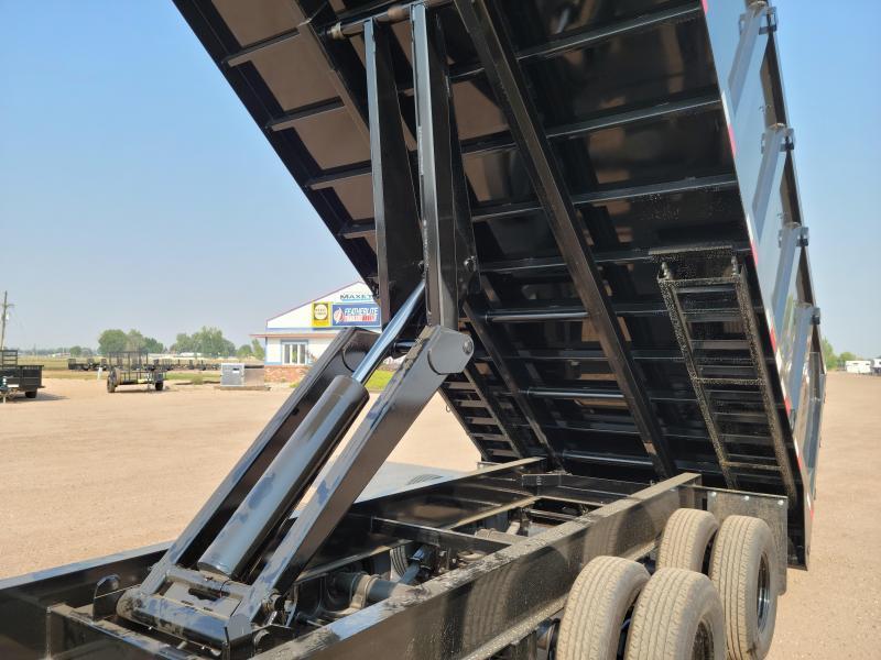 2022 Big Tex Trailers 25DU-20 Tandem Dual Gooseneck Dump Trailer