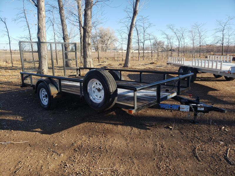 2017 Top Hat Trailers 7'W X 14'L Utility Trailer
