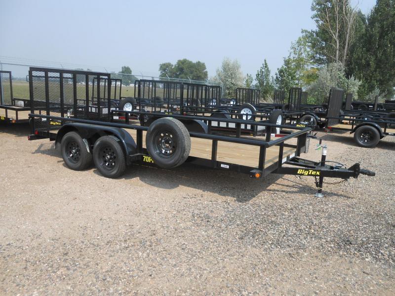 2022 Big Tex Trailers 70PI-16X Utility Trailer
