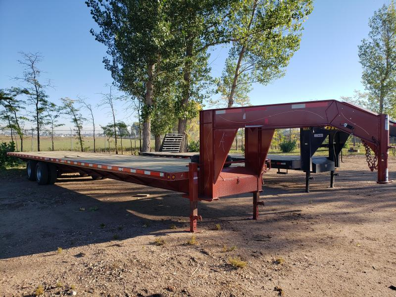 2012 ABU 40ft Gooseneck Flatbed