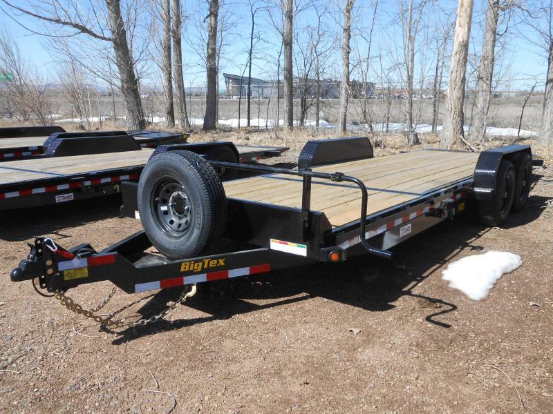 2021 Big Tex Trailers 14TL-22 Tilt Deck Equipment Trailer
