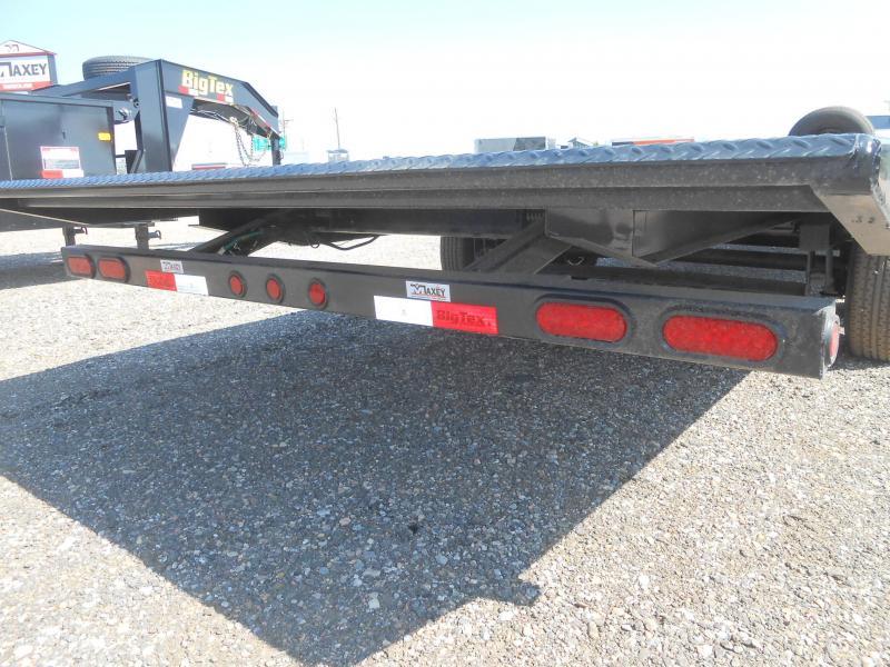 2021 Big Tex Trailers 14OT-22 Deck Over Power Tilt Flatbed Trailer